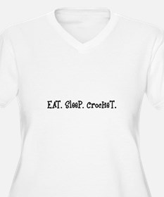 Eat Sleep Crochet T-Shirt