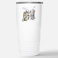 Cute Whimsical cats Travel Mug