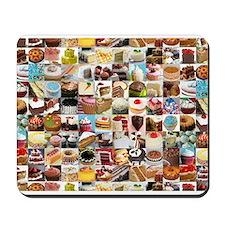 'I love cake!' Mousepad