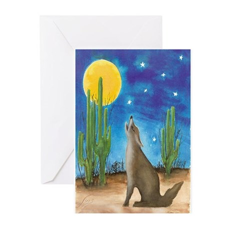 Coyote Greeting Cards (Pk of 10)