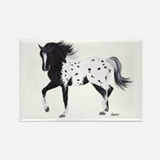 Unique Arabian horse art Rectangle Magnet