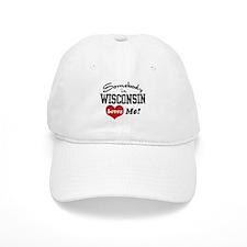 Somebody in Wisconsin Loves Me Baseball Cap