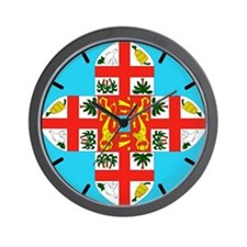 Fiji Wall Clock