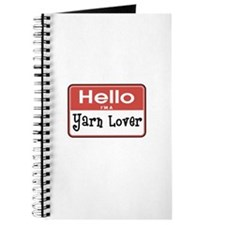 Hello I'm A Yarn Lover Journal