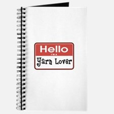 Hello I'm A Yarn Lover Journal