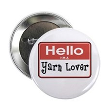 "Hello I'm A Yarn Lover 2.25"" Button (10 pack)"