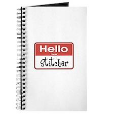 Hello I'm A Stitcher Journal