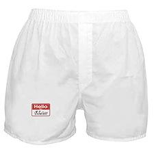 Hello I'm A Stitcher Boxer Shorts