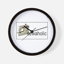 Sewaholic - Sewing Machine Wall Clock