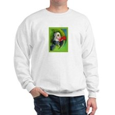 Green Military Macaw Sweatshirt