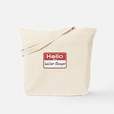 Hello I'm A Rubber Stamper Tote Bag