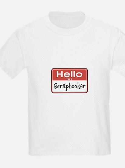 Hello I'm A Scrapbooker T-Shirt