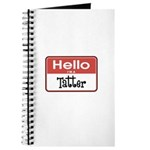 Hello I'm A Tatter Journal