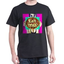 Ms. Anime Eat Me Pizza T-Shirt