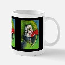 Green Military Macaw Mug