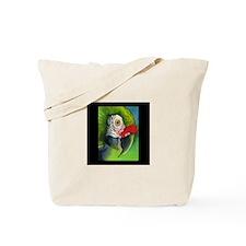 Green Military Macaw Tote Bag