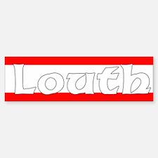 Louth Bumper Car Car Sticker