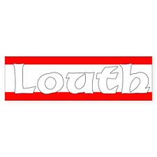 Louth Bumper Car Sticker