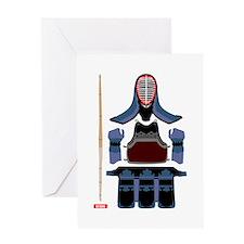 Kendo Protector Greeting Card