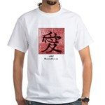 White Love Kanji T-Shirt