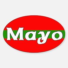 Mayo Oval Decal