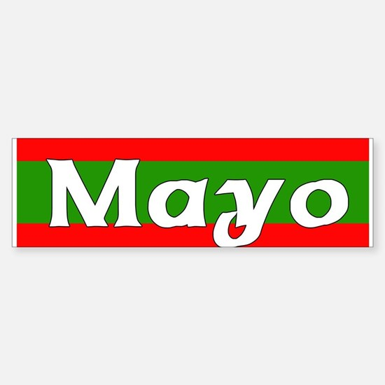 Mayo Bumper Car Car Sticker