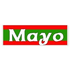 Mayo Bumper Car Sticker