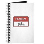 Hello I'm A Felter Journal