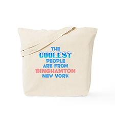 Coolest: Binghamton, NY Tote Bag