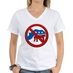 No RINOs! Women's V-Neck T-Shirt