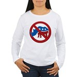 No RINOs! Women's Long Sleeve T-Shirt