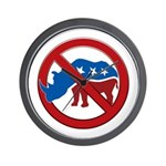 No RINOs! Wall Clock