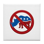 No RINOs! Tile Coaster
