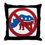 No RINOs! Throw Pillow