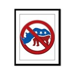 No RINOs! Framed Panel Print