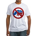 No RINOs! Fitted T-Shirt