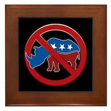 No RINOs! Framed Tile