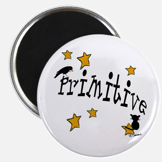 "Name ""Primitive"",Stars, Crow,& Cat Magnet"