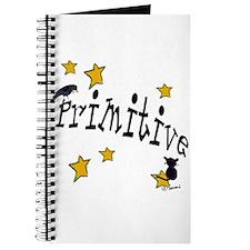 "Name ""Primitive"",Stars, Crow,& Cat Journal"