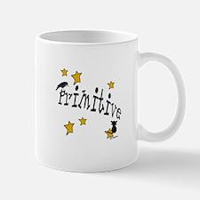 "Name ""Primitive"",Stars, Crow,& Cat Mug"