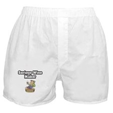 """Serious Wine Maker"" Boxer Shorts"