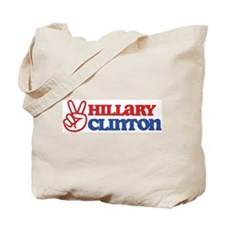 Hillary Clinton for Peace Tote Bag
