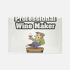 """Professional Wine Maker"" Rectangle Magnet"