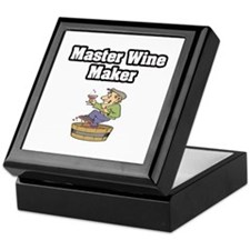 """Master Wine Maker"" Keepsake Box"