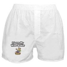 """I Love My Wine Maker"" Boxer Shorts"