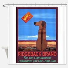 Ridgeback Brand Shower Curtain
