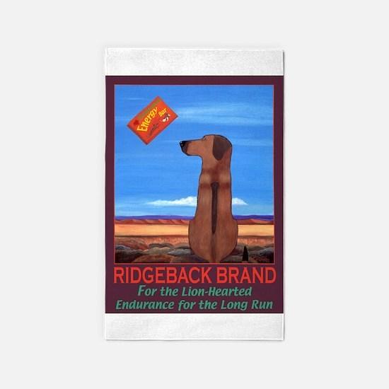 Ridgeback Brand Area Rug