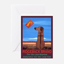 Ridgeback Brand Greeting Card