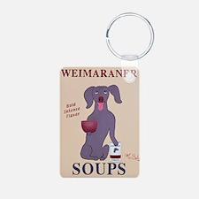 Weimaraner Soups Keychains