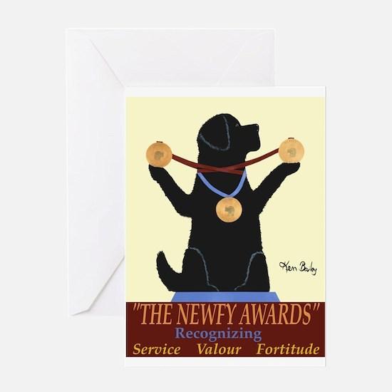 The Newfy Awards Greeting Card